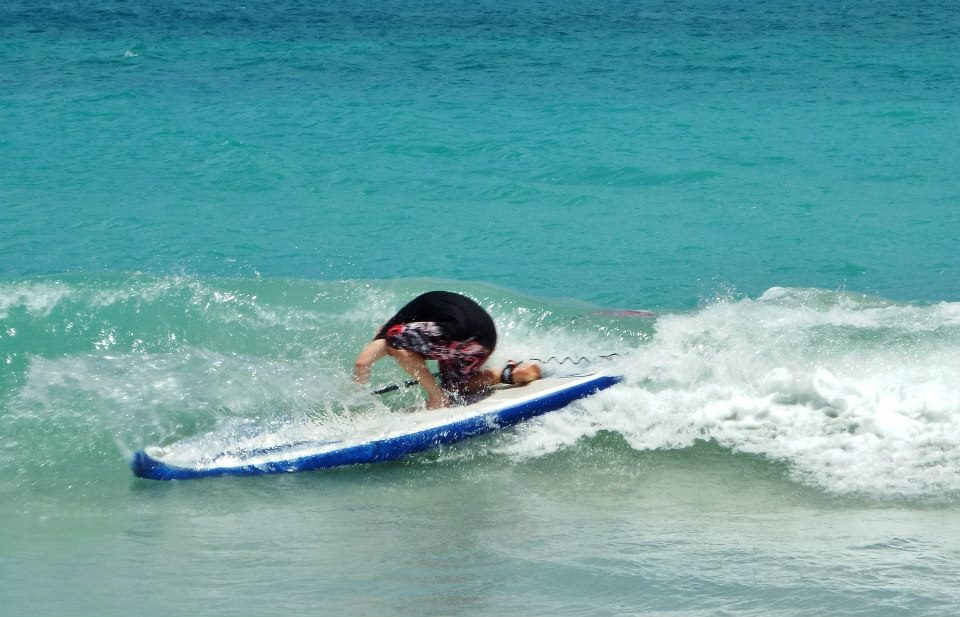 Tez Plavenieks testing BIC's 10ft Air stand up paddle booard for SUP Mag UK
